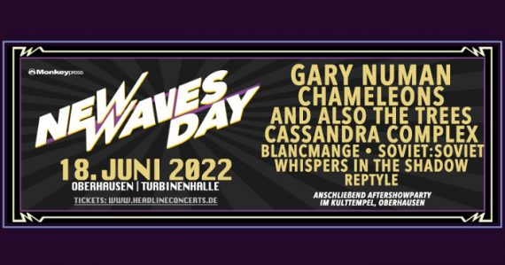Monkeypress präsentiert: NEW WAVES DAY 2022