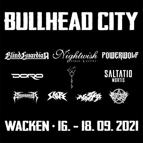 Metal is coming home – Erstes BULLHEAD CITY im September in WACKEN!