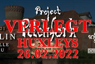 PROJECT PITCHFORK: Tourverschiebung und Absage Zitadelle Spandau