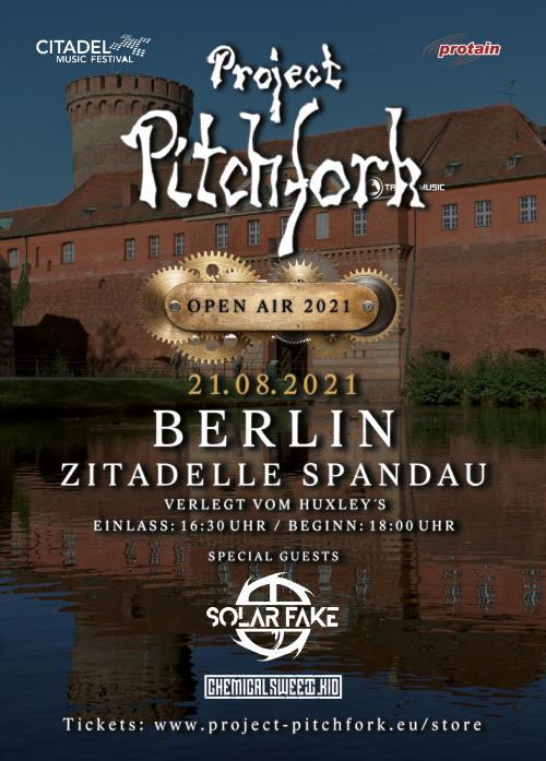 PROJECT PITCHFORK: Tourverschiebung und Open Air in Berlin