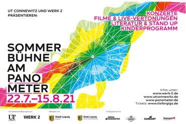 Live und in Farbe: Sommerbühne am Leipziger Panometer