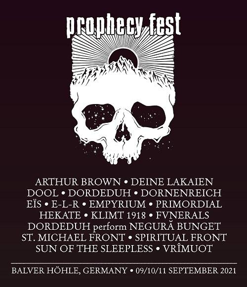PROPHECY FEST 2021: Das Line-Up steht! - Alle Informationen hier