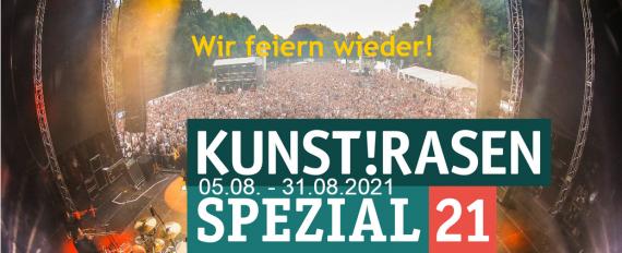 Konzertsaison auf dem KunstRasen ist eröffnet!