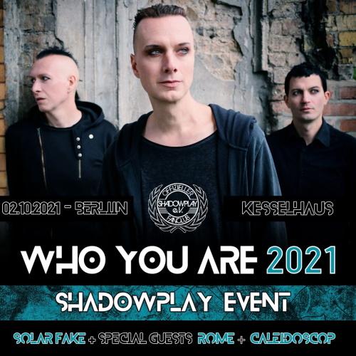 Shadowplay Fan-Konzert am 02.10.2021 - es gibt noch Restkarten